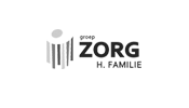 Groep zorg familie grayscale